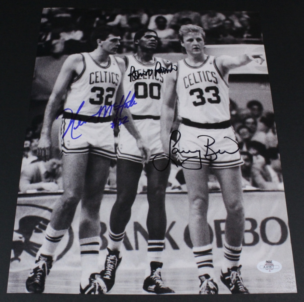 Kevin Mchale Larry Bird Showing picture: Larry...
