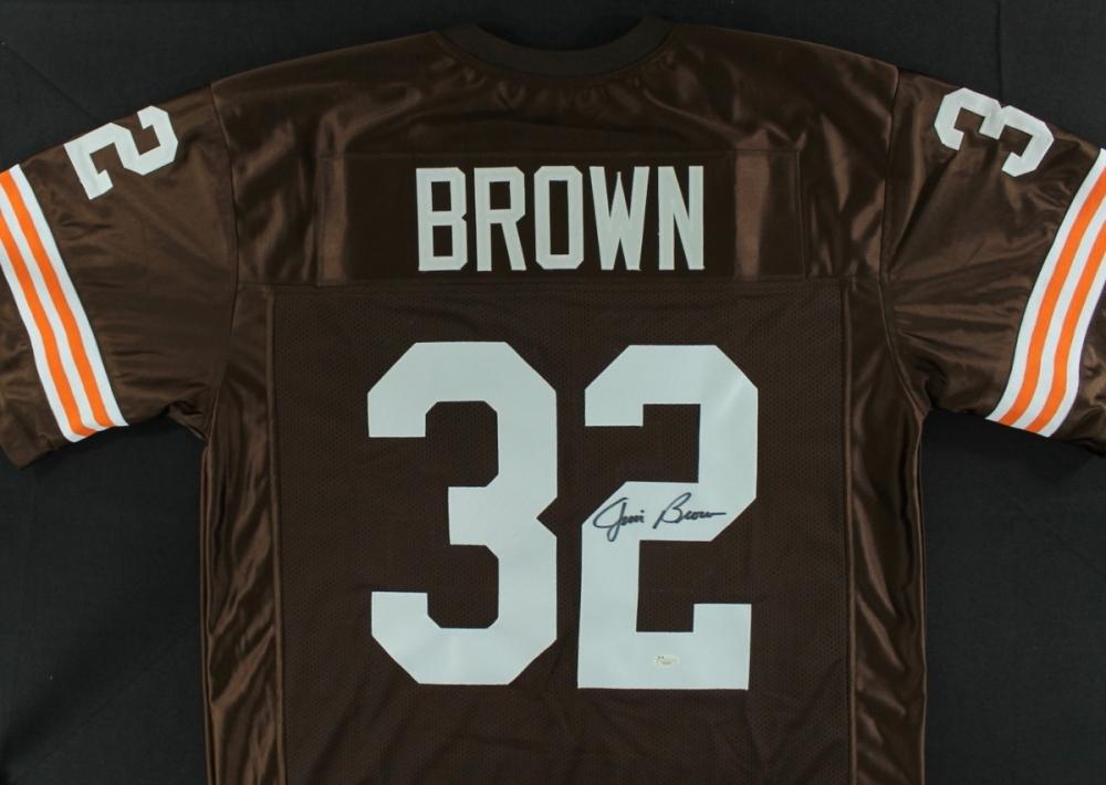 Jim Brown Browns Jim Brown Signed Browns Jersey