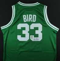 Larry Bird Signed Celtics Jersey (Bird Hologram & Schwartz COA) at PristineAuction.com