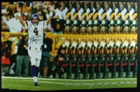 "Lot of (10) Brett Favre Signed Vikings ""1st Time Back at Lambeau"" 16x20 Photos (Favre COA) at PristineAuction.com"
