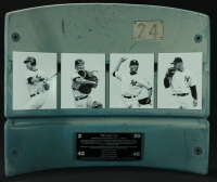 """The Core Four"" Yankee Stadium Authentic Game-Used Stadium Seat Back (MLB & Steiner COA) at PristineAuction.com"