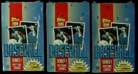 Lot of (3) 1994 Topps Baseball Card Boxes at PristineAuction.com