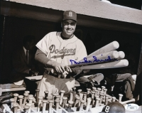 Duke Snider Signed Dodgers 8x10 Photo (JSA COA) at PristineAuction.com