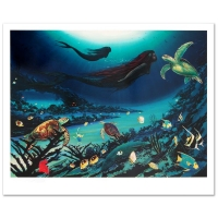 "Wyland Signed Limited Edition ""Siren of the Sea"" 19x24 Lithograph #455/750 (Wyland COA) at PristineAuction.com"