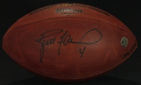 Brett Favre & Mike McCarthy Signed Official NFL Game Ball (Favre COA) at PristineAuction.com