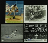 Lot of (4) Dodgers Signed 8x10 Photos with Ramon Martinez, Al Gionfriddo, Carl Erskine & Jerry Reuss (JSA & SOP COA) at PristineAuction.com