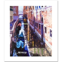 "Howard Behrens Signed ""Magic of Venice I"" Limited Edition 16"" x 20""  Hand Embellished Giclee at PristineAuction.com"