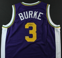 Trey Burke Signed Jazz Jersey (GTSM COA) at PristineAuction.com
