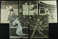 Lot of (120) New York Yankee's Greats Sepia 11x14 Photos with Yogi Berra, Roger Maris, Reggie Jackson, Thurman Munson, Phil Rizzuto at PristineAuction.com