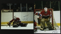 Lot of (2) Denis Herron Signed & Inscribed Canadians 8x10 Photos (PA LOA) at PristineAuction.com
