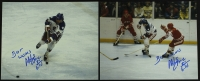 "Lot of (2) Mike Eruzione Signed Team USA 8x10 Photos Inscribed ""Best Wishes"" & ""80 Gold"" (PA LOA) at PristineAuction.com"