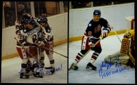 "Lot of (2) John Harrington Signed Team USA 8x10 Photos Inscribed ""1980 USA Gold!"" (PA LOA) at PristineAuction.com"