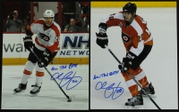 "Lot of (2) John Harrington Signed Flyers 8x10 Photos Inscribed ""All The Best!"" (PA LOA) at PristineAuction.com"