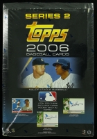 2006 Topps Series 2 Baseball Rack Pack Factory Sealed Box with 24 Packs at PristineAuction.com