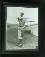 Ted Williams Signed 1938 Minneapolis Millers Minor League 18x22 Custom Framed Photo (Ted Williams COA) at PristineAuction.com