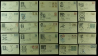 Lot of (50) Vintage First Day Covers with Stamps with Abraham Lincoln, US Air Mail, Boy Scouts, Andrew Carnegie at PristineAuction.com
