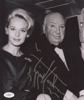 "Tippi Hedren Signed ""The Birds"" 8x10 Photo with Alfred Hitchcock (JSA COA) at PristineAuction.com"