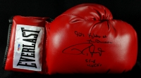"Roy Jones Jr. Signed Everlast Boxing Glove Inscribed ""90's Fighter of the Decade"" & ""55-8 40 KO'S"" (PSA COA) at PristineAuction.com"