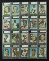 Lot of (99) BVG Graded Rare 1966 O-Pee-Chee Blank Back Baseball Cards (BVG) at PristineAuction.com