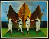 MLB Triple Crown Winners 20x25 Lithograph with Mickey Mantle, Ted Williams, Frank Robinson & Carl Yastrzemski at PristineAuction.com