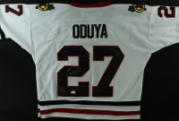 Johnny Oduya Signed Blackhawks Jersey (JSA COA) at PristineAuction.com