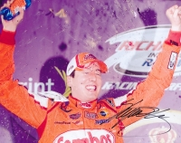 Kyle Busch Signed NASCAR 8x10 Photo (PA LOA) at PristineAuction.com