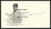 Phil Rizzuto Signed Yankees Hall of Fame Induction FDC Cachet Envelope (PA LOA) at PristineAuction.com