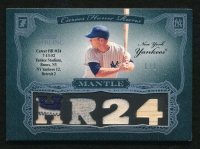 2006 Topps Sterling Moments Relics Prime #MMHR24 Mickey Mantle HR 24 #1/1 at PristineAuction.com