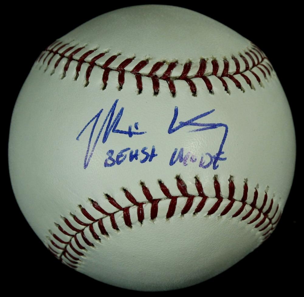 Matt Kemp Autographed Baseball Matt Kemp Signed Oml Baseball