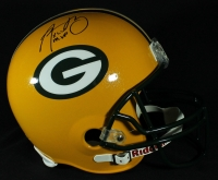 "Aaron Rodgers Signed Packers Full-Size Helmet Inscribed ""XLV MVP"" (Steiner COA) at PristineAuction.com"