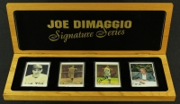 Joe DiMaggio Signed Limited Edition Signature Series Porcelain Set with Signed Cards at PristineAuction.com