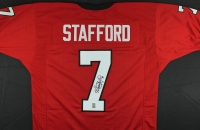 Matthew Stafford Signed Georgia Jersey (GTSM COA) at PristineAuction.com