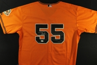 Tim Lincecum Signed Giants Jersey (JSA) at PristineAuction.com
