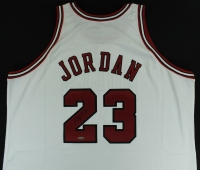 Michael Jordan Signed Authentic Bulls Jersey (UDA COA) at PristineAuction.com