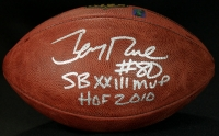 "Jerry Rice Signed Official NFL Game Ball Inscribed ""SB XXIII MVP"" & ""HOF 2010"" (Jerry Rice Hologram) at PristineAuction.com"