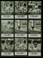 "Lot of (9) Pete Rose Signed 2012 Leaf ""The Living Legend"" Baseball Cards (Leaf) at PristineAuction.com"