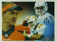 Peyton Manning Limited Edition 12x16 Lithograph # 07/10 (PA LOA) at PristineAuction.com