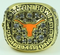 Texas Longhorns High Quality Replica 1999 Cotton Bowl Championship Ring at PristineAuction.com