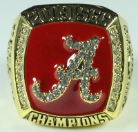 Nick Saban Alabama High Quality Replica 2009 SEC Championship Ring at PristineAuction.com