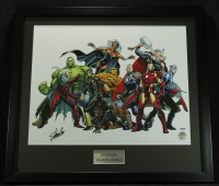 Stan Lee Signed 22x24 Custom Framed Photo (PSA COA) at PristineAuction.com