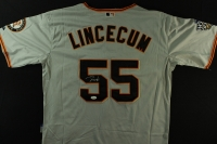 Tim Lincecum Signed Giants Jersey (JSA COA) at PristineAuction.com
