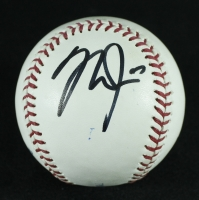 Mike Trout Signed OML Baseball (JSA LOA) at PristineAuction.com