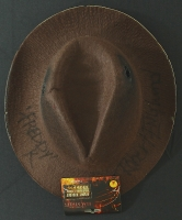 "Robert Englund Signed ""A Nightmare on Elm Street"" Freddy Krueger Fedora Hat Inscribed ""Freddy K"" (Robert Englund COA) at PristineAuction.com"