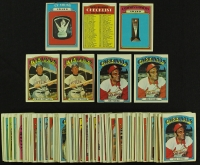 Lot of (117) 1972 Topps Baseball Cards with Graig Nettles, Joe Torre, Award Cards at PristineAuction.com