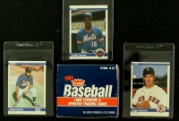 Complete (132) Card Set of 1984 Fleer Update Baseball With Kirby Puckett RC, Roger Clemens RC, Dwight Gooden RC at PristineAuction.com
