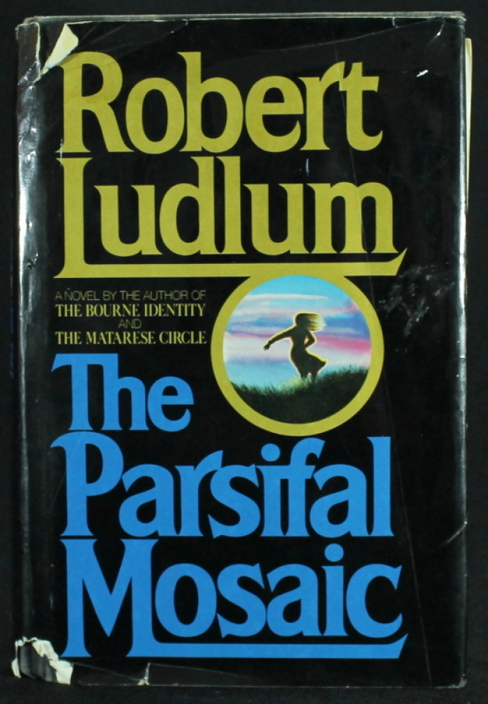 Lot of 11 Robert Ludlum Covert One Paperback Books