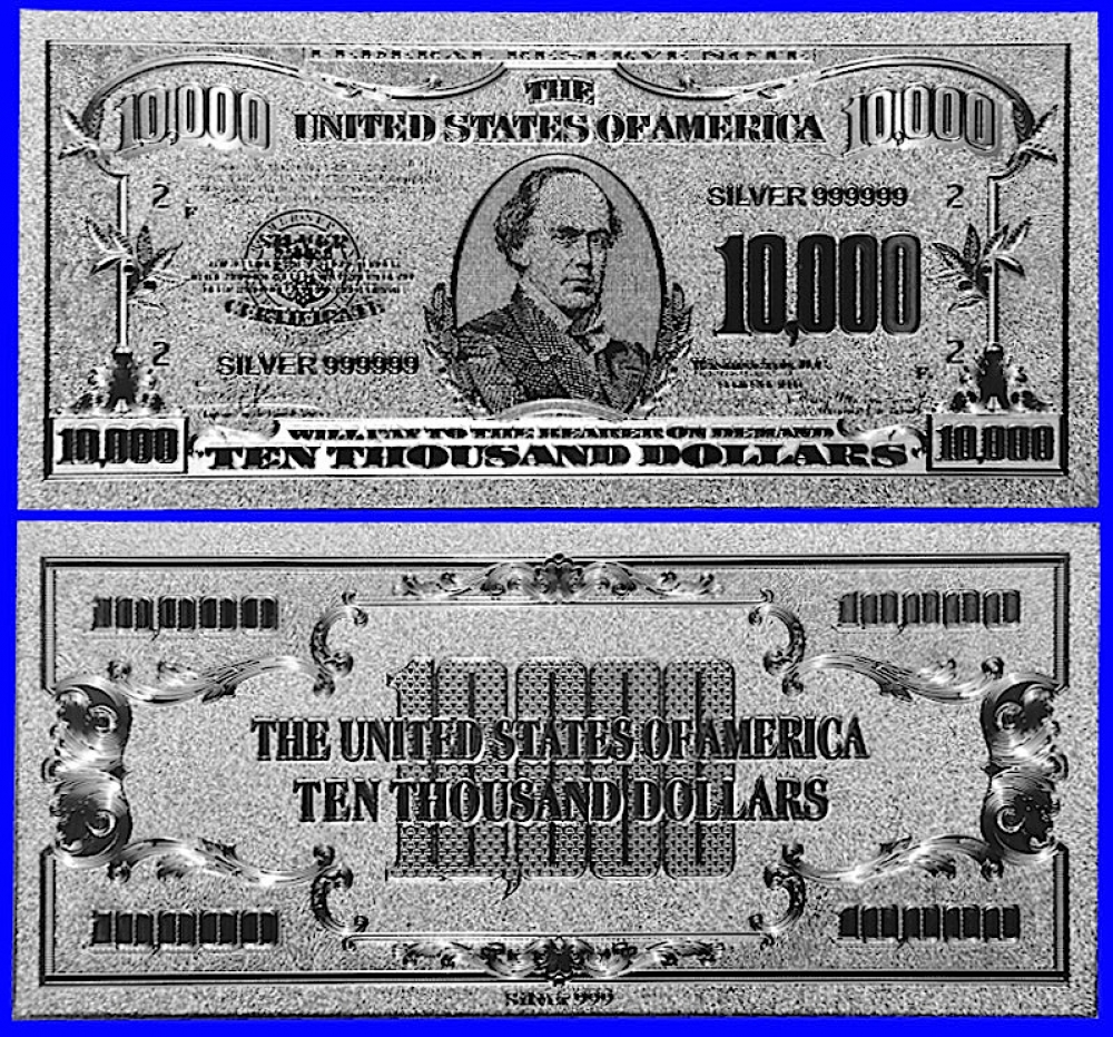 10000 Bill Us $... $10000 Bill For Sale