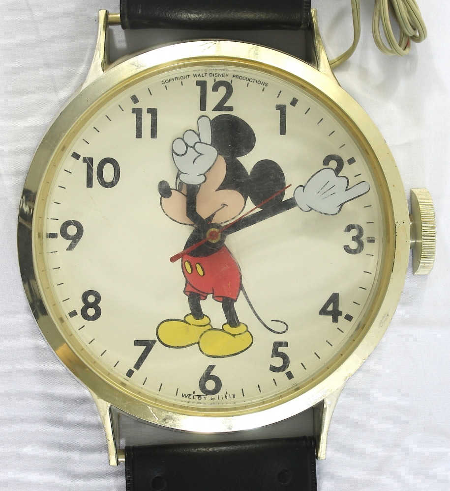Mickey Mouse Wall Clock Mickey Mouse Watch Wall