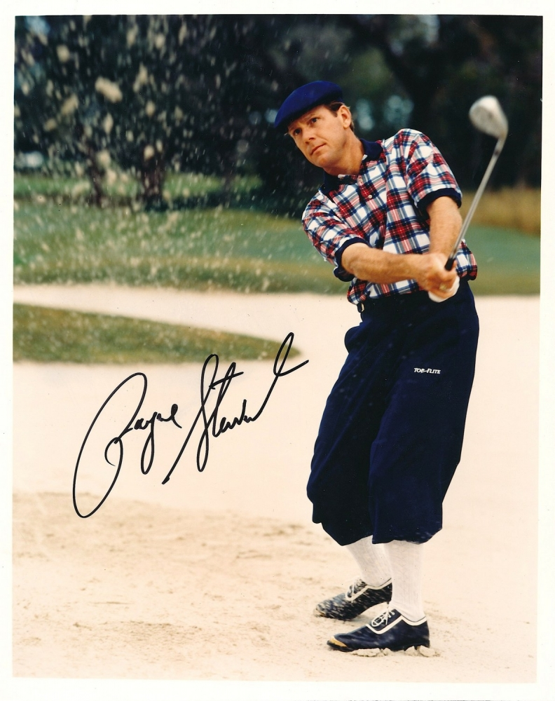 payne stewart signed 8x10 photo jsa loa at pristine auction. Black Bedroom Furniture Sets. Home Design Ideas