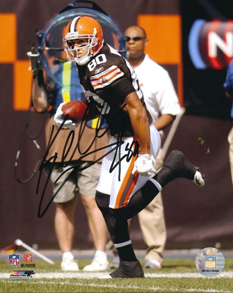 kellen winslow signed browns 8x10 photo pa loa at. Black Bedroom Furniture Sets. Home Design Ideas